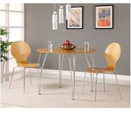 Bentwood Round Table Top Natural and Legs at Kmart.com