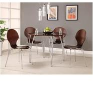 Bentwood Round Table Top Espresso and Legs at Kmart.com