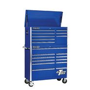 "Extreme Tools 41"" 8 Drawer Top Chest & 11 Drawer Roller Cabinet in Blue at Sears.com"