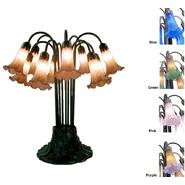 Warehouse of Tiffany Tiffany Style  Lily Table Lamp - Blue at Sears.com