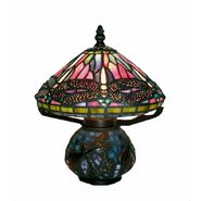 Warehouse of Tiffany Tiffany Style Dragonfly Mozaic Table Lamp at Sears.com