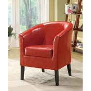 Linon Simon Red Club Chair at Sears.com