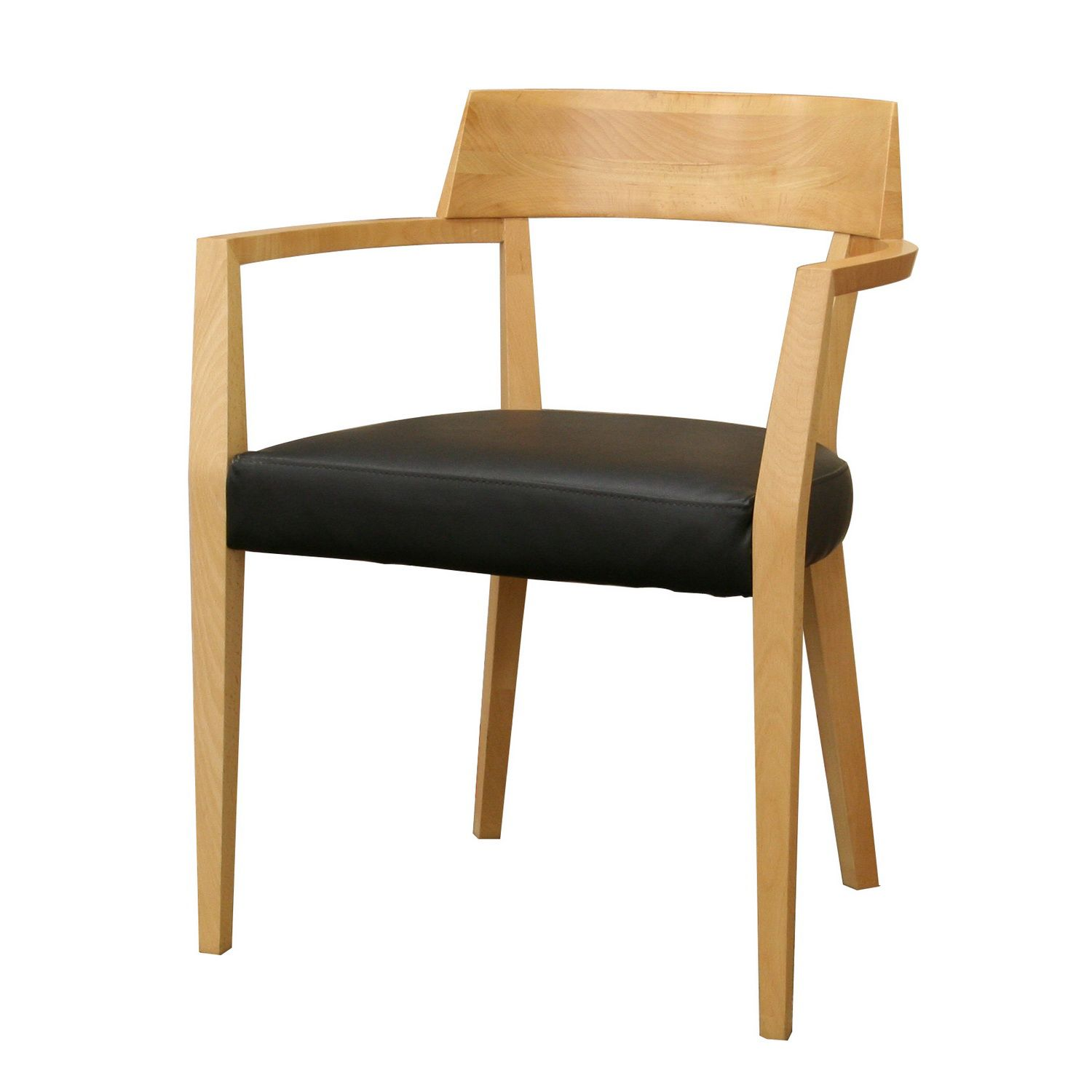 Laine Light Wood Modern Dining Chair with