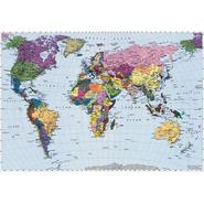 Komar World Map Mural - 8ft. 10in. wide x 6ft. 2in. high at Kmart.com