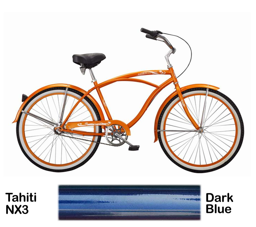 Micargi Dark Blue Tahiti NX3 Beach Cruiser Male