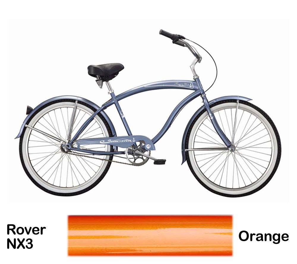 Micargi Orange Rover NX3 Beach Cruiser Male