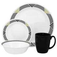 Corelle Livingware Global Stripes 16-Piece Dinnerware Set at Kmart.com