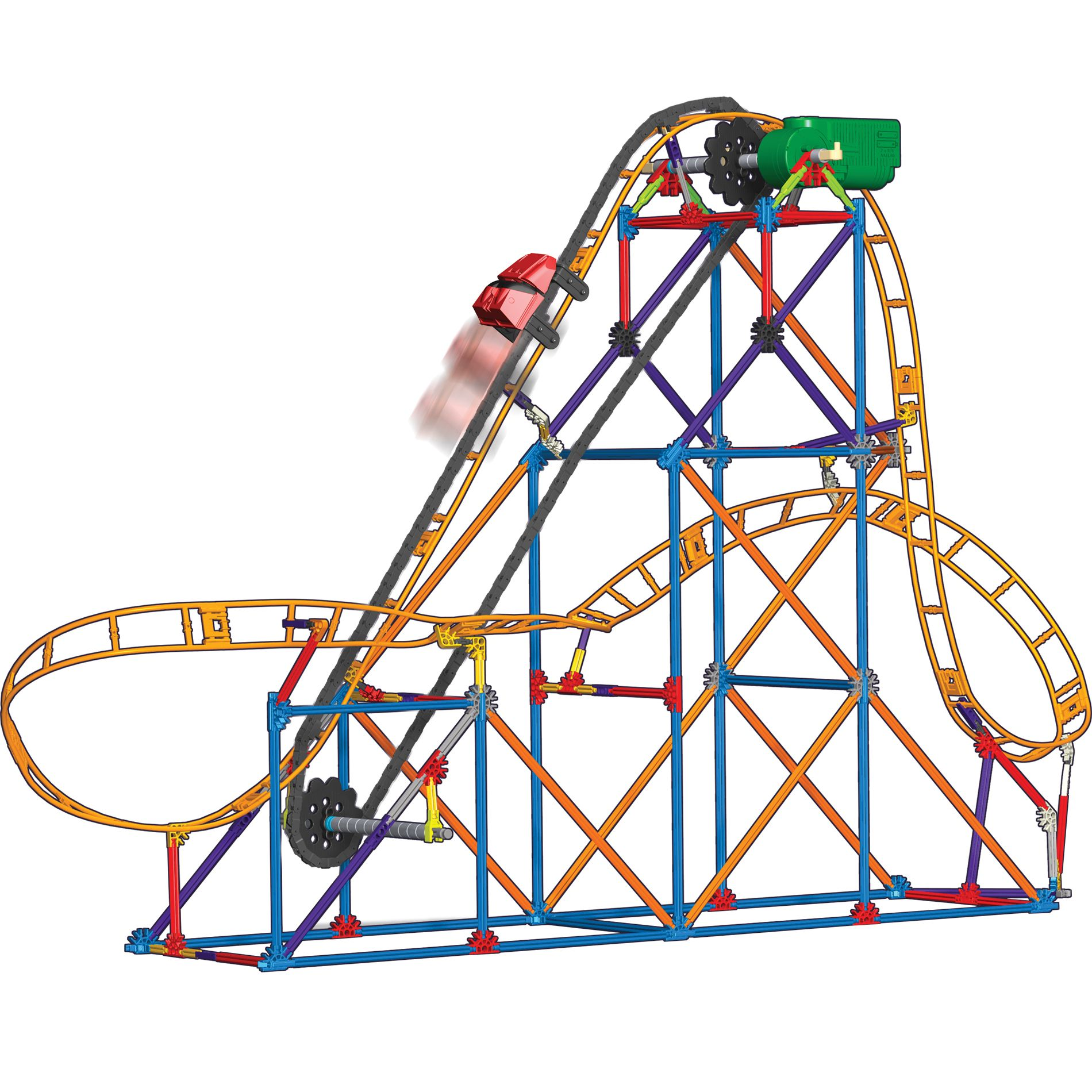 Collect & Build - Corkscrew Coaster