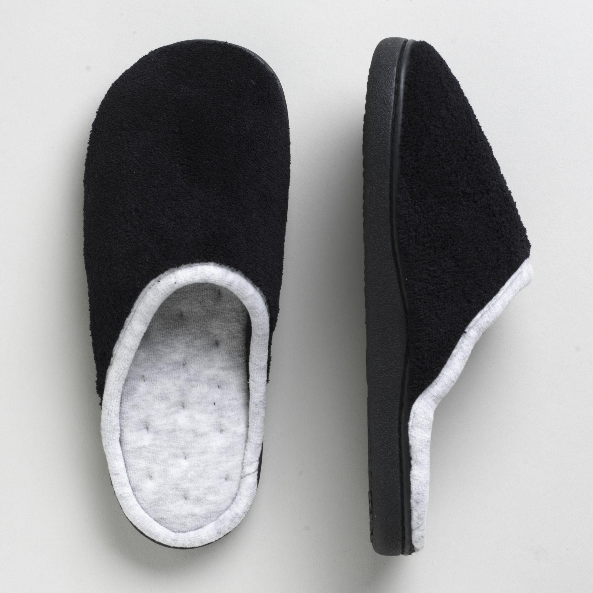 Isotoner Women\'s Wide Width Slippers