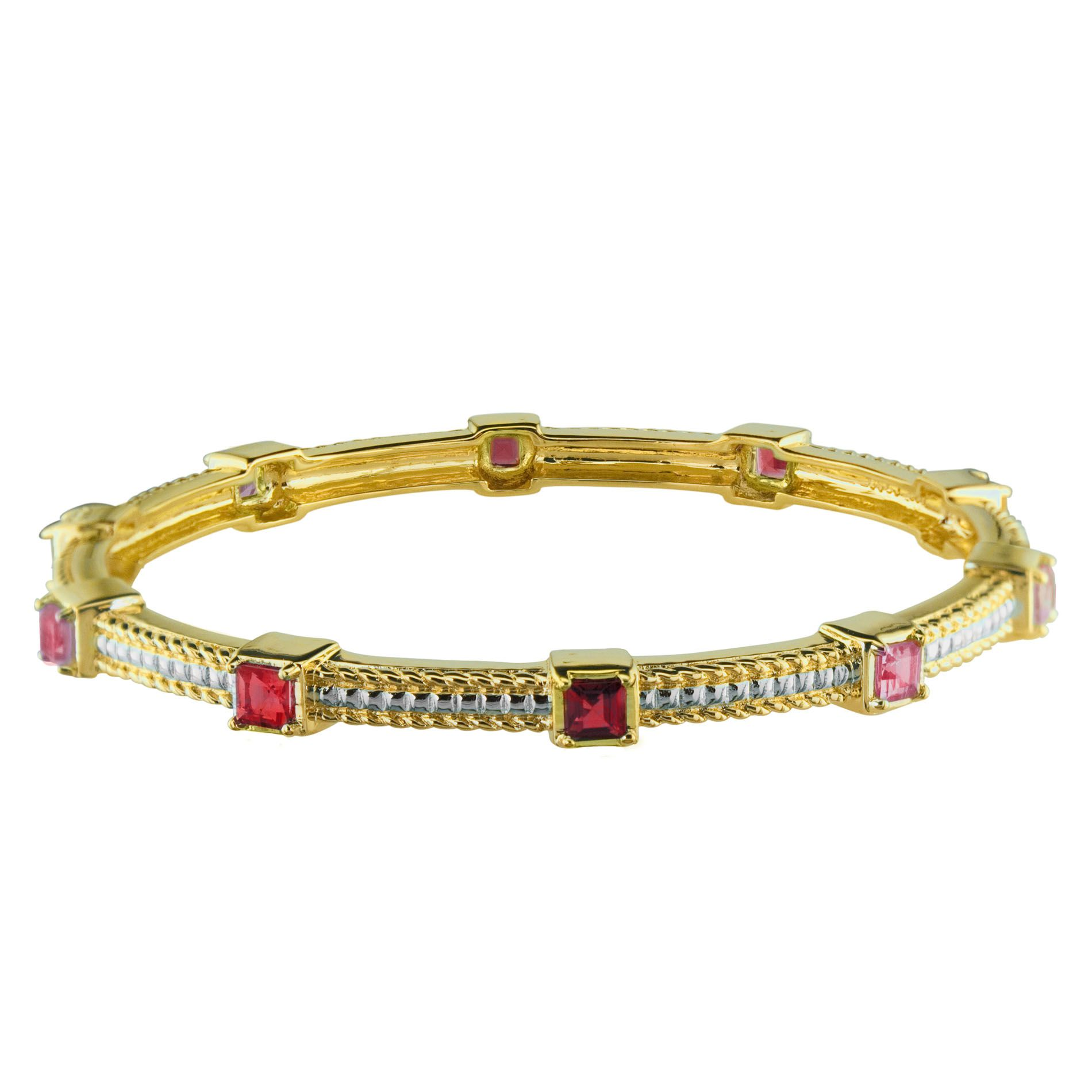 Lab Created Ruby Bangle