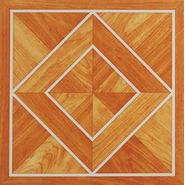 Nexus White Border Classic Inlaid Parquet 12 x 12 Vinyl Floor Tile at Kmart.com