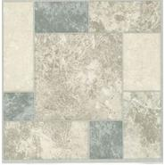 Nexus Grey, White & Blue Marble 12 x 12 Vinyl Floor Tile at Kmart.com