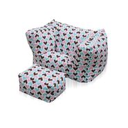 American Furniture Alliance Junior Arm Chair/Ottoman - I Heart You at Sears.com