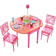 Barbie ® Basic Furniture Dinner to Dessert Dining Room at Kmart.com