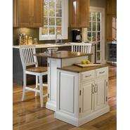 Home Styles Woodbridge Two Tier Island & Two Br Stools at Sears.com