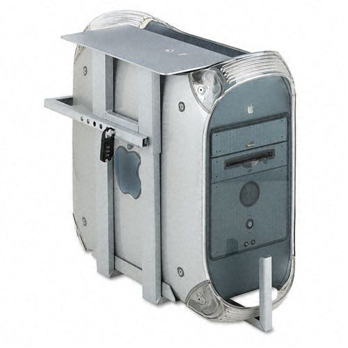 Lockable CPU Holder With Two Combination Locks
