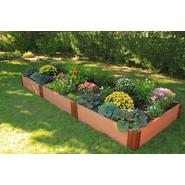 "Frame It All 4' x 12' x 12"" Composite Wood Grain Timber Raised Garden at Sears.com"
