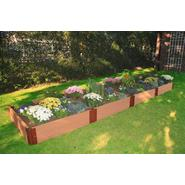 "Frame It All 4' x 16' x 12"" Composite Wood Grain Timber Raised Garden at Sears.com"