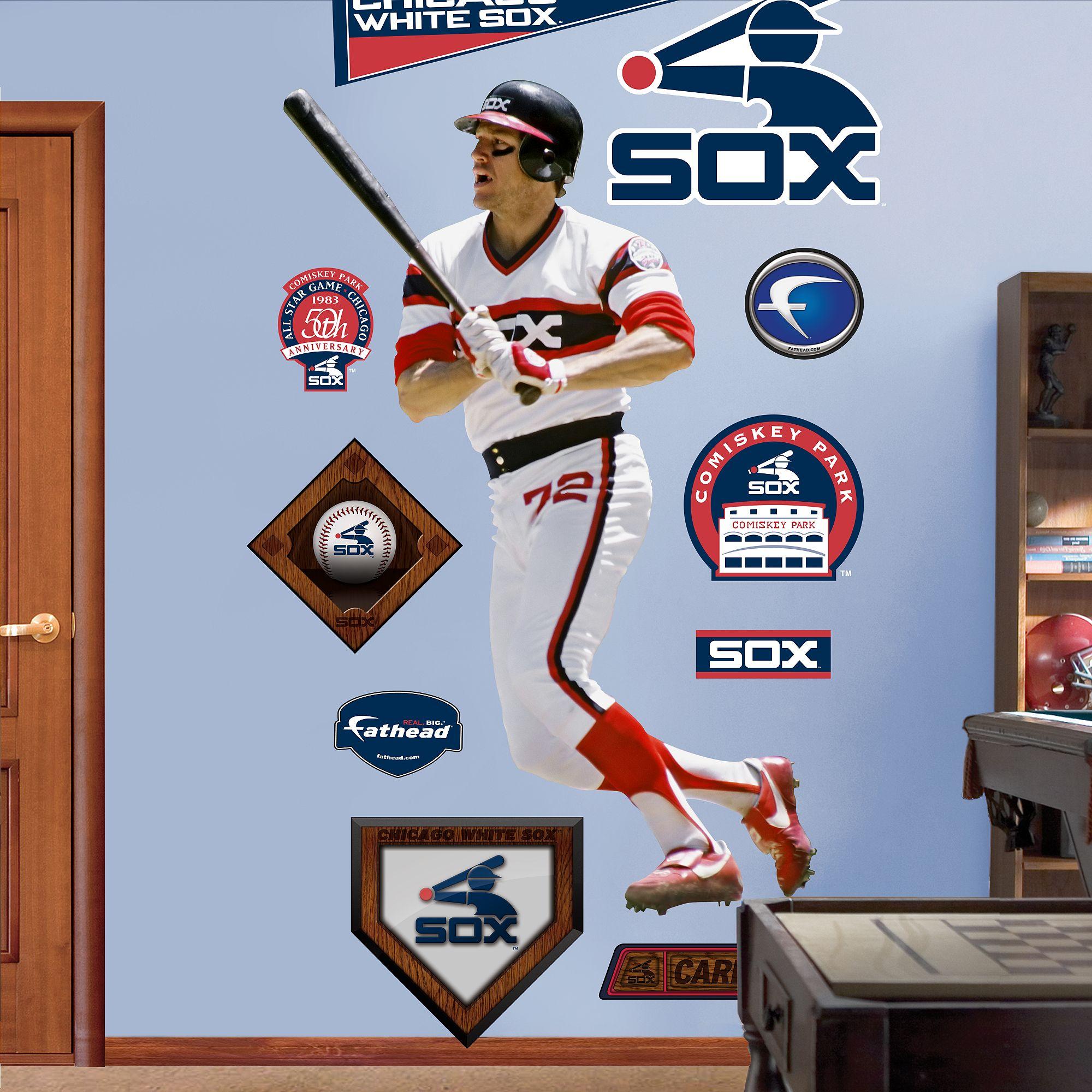 Fathead Carlton Fisk White Sox Fathead