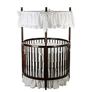 Dream On Me Sophia, Posh Circular Crib,Espresso at Sears.com
