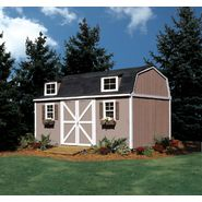 Colony Bay Outdoor Structures Wellington 10' x 16' Storage Building Kit with Floor at Sears.com