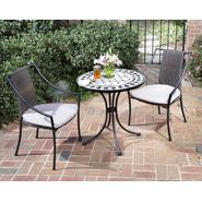 Home Styles 3-Pc. Indoor/Outdoor Bistro Set:  Includes Marble Bistro Table & 2 Laguna Slope Arm Chairs at Kmart.com