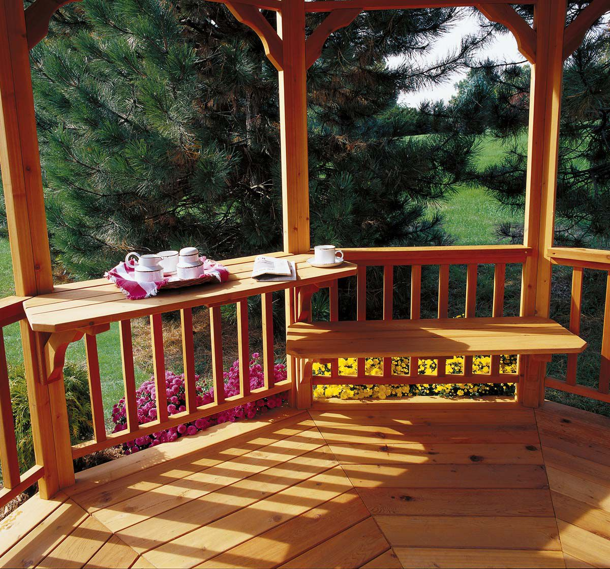 Chesapeake Gazebo Bench/Table Kit