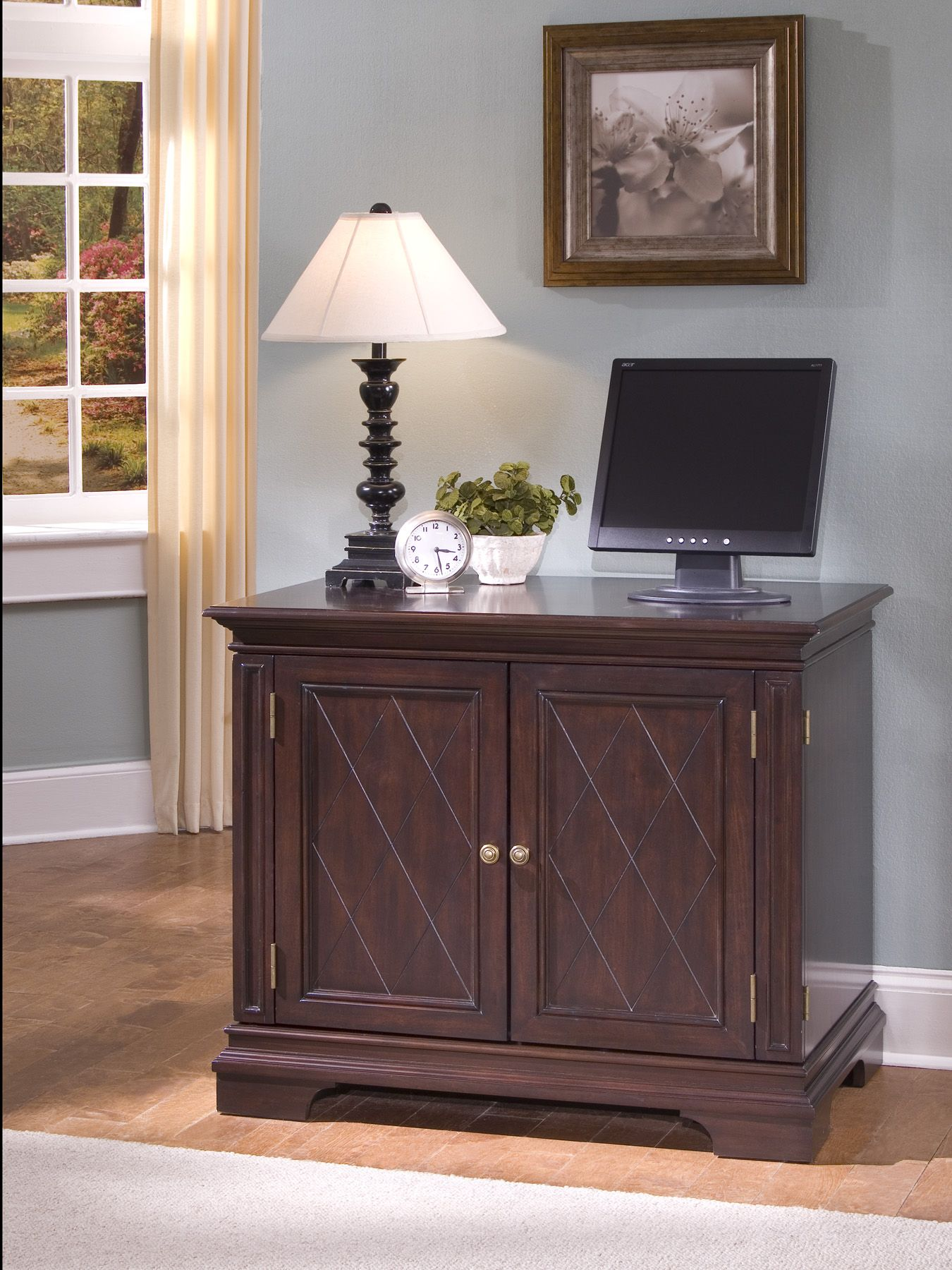 Windsor Compact Computer Desk                                                                                                    at mygofer.com