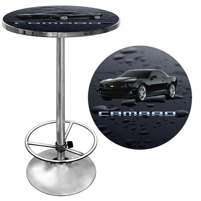 Trademark Black Camaro Pub Table