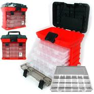 Stalwart 73 Compartment Durable Plastic Storage Tool Box - RED at Kmart.com