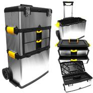 Stalwart Massive & Mobile 3-part Stainless Steel Tool Box at Sears.com