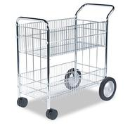 Fellowes Wire Mail Cart, 150-Folder Capacity, Chrome Plated at Kmart.com