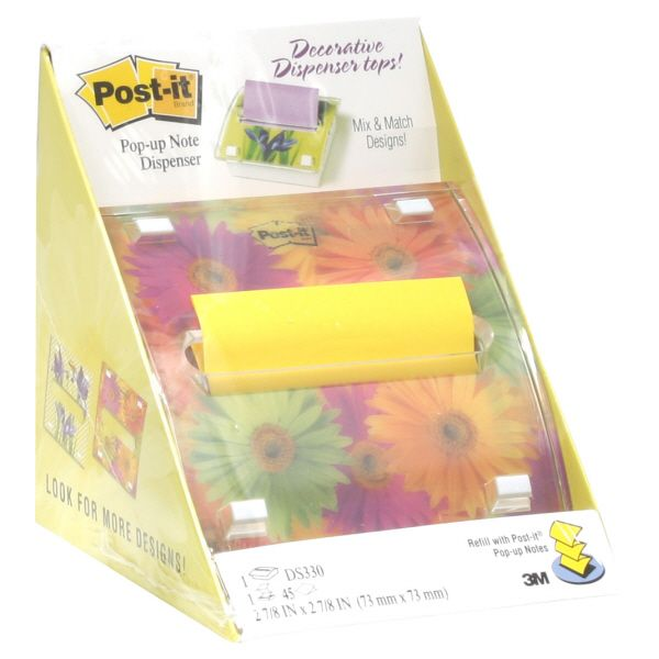 Post-it Pop-Up Note Dispenser, 1 note dispenser