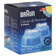 Braun Clean & Renew, Lemon Fresh Formula, 2 pack at Sears.com