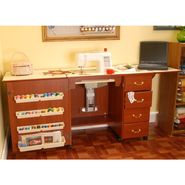 Arrow Air Lift Sewing Cabinet, Cherry at Kmart.com
