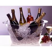 Acrylic Oval Party Wine Tub at Kmart.com