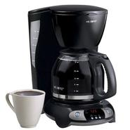 Mr. Coffee Coffee Maker with Clock - Black at Kmart.com