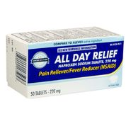 American Fare All Day Relief 220mg Naproxen Sodium Tablets 50 Count at Kmart.com