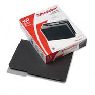 Pendaflex 1/3 Cut Top Tab Letter File Folders, Black 100/Box at Kmart.com