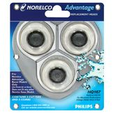 Norelco Advantage Replacement Heads, HQ 167, 3 replacement heads at mygofer.com