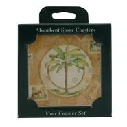 Palm Tree Coaster 4-Piece Set at Kmart.com