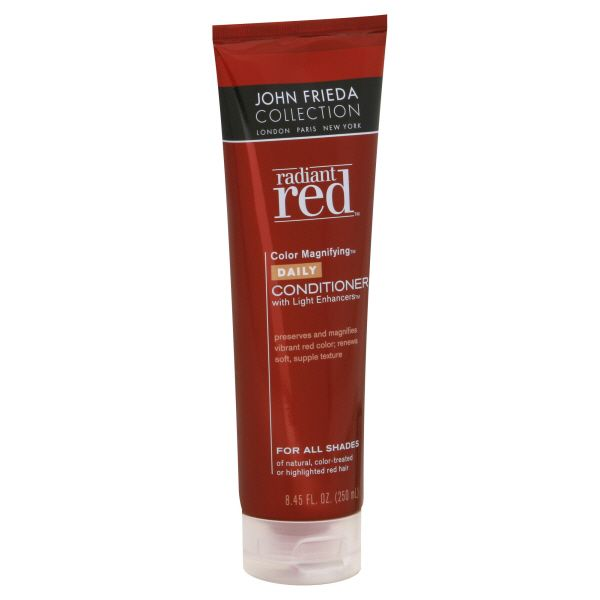 Radiant Red John Frieda Radiant Red Color Magnifying Daily Conditioner with Light Enhancers 8 45 fl