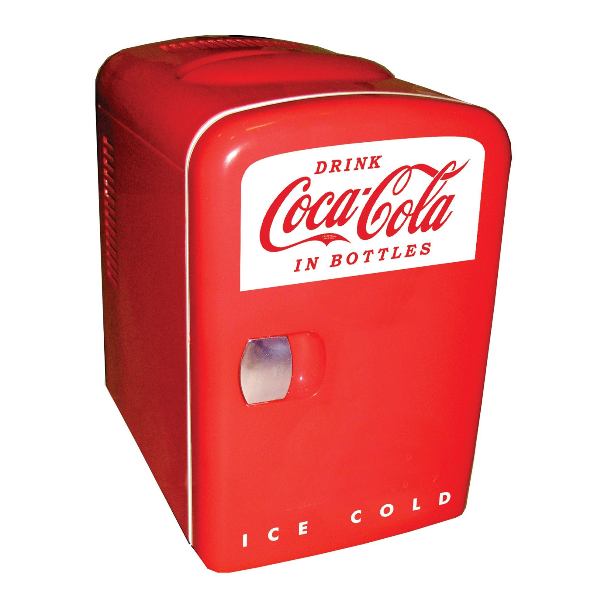 Coca-Cola Personal Fridge Compact Refrigerator (KWC4)