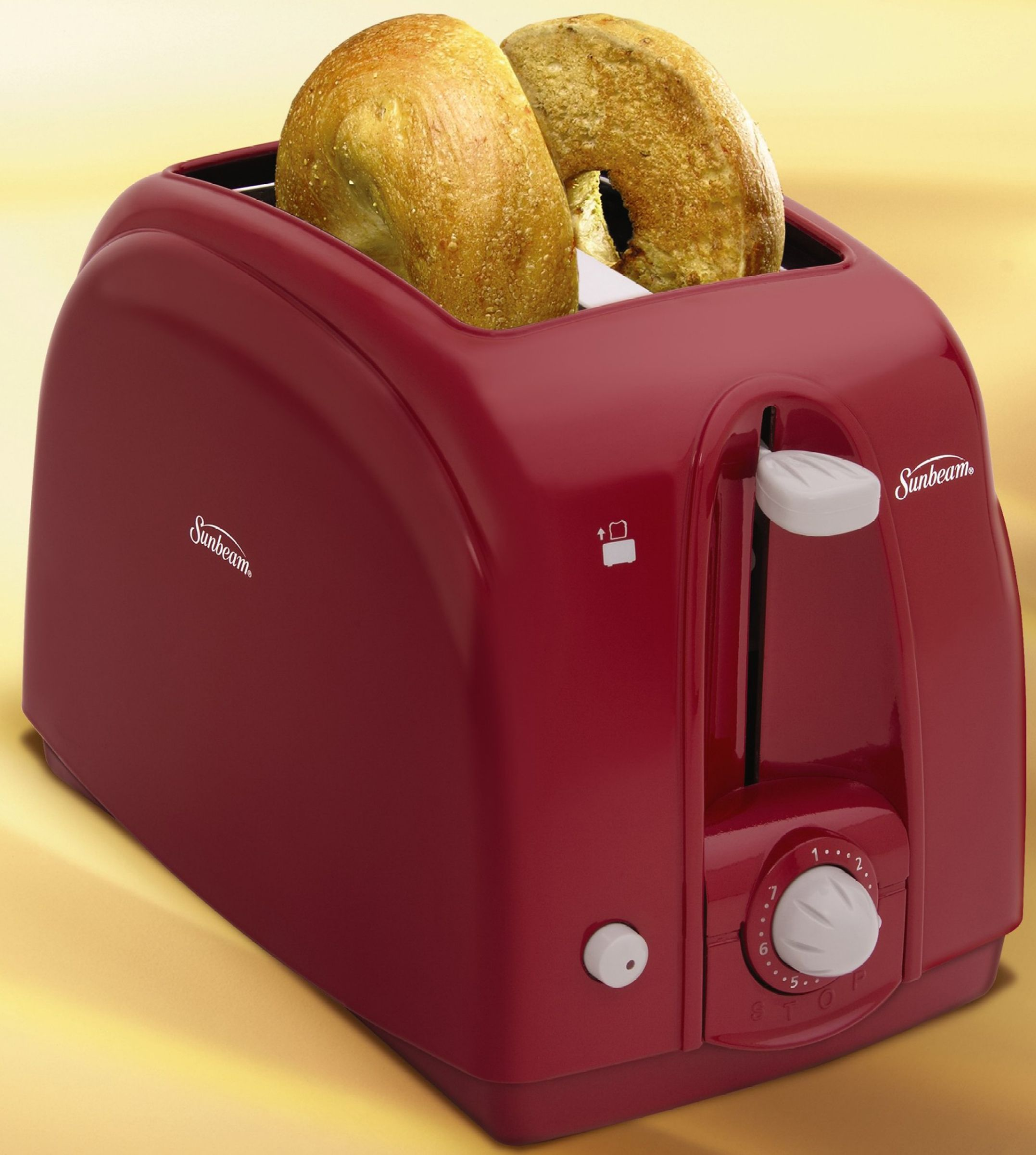 Sunbeam  Two-Slice Toaster - Red