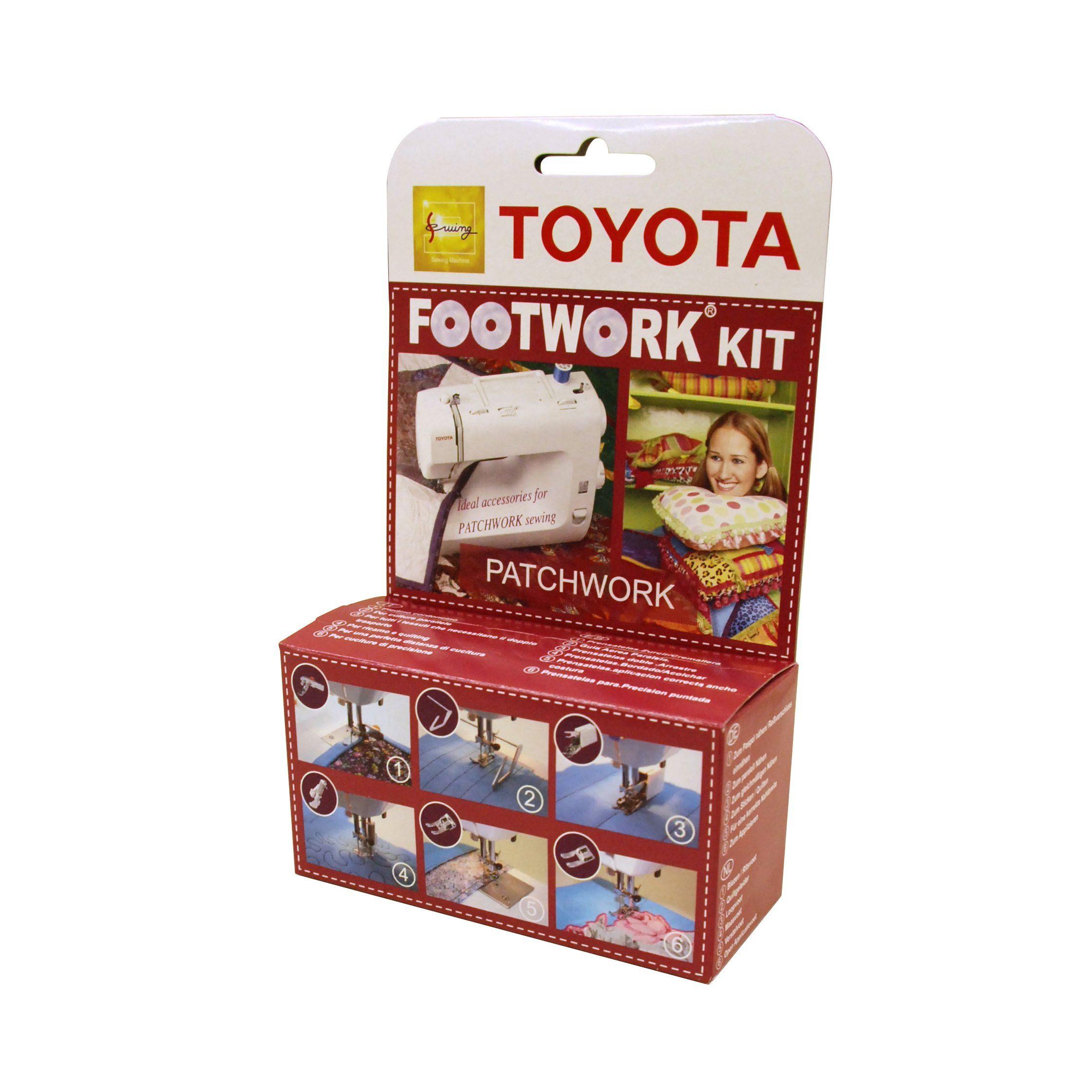 Toyota Sewing Machine Footwork Kit (Patchwork)