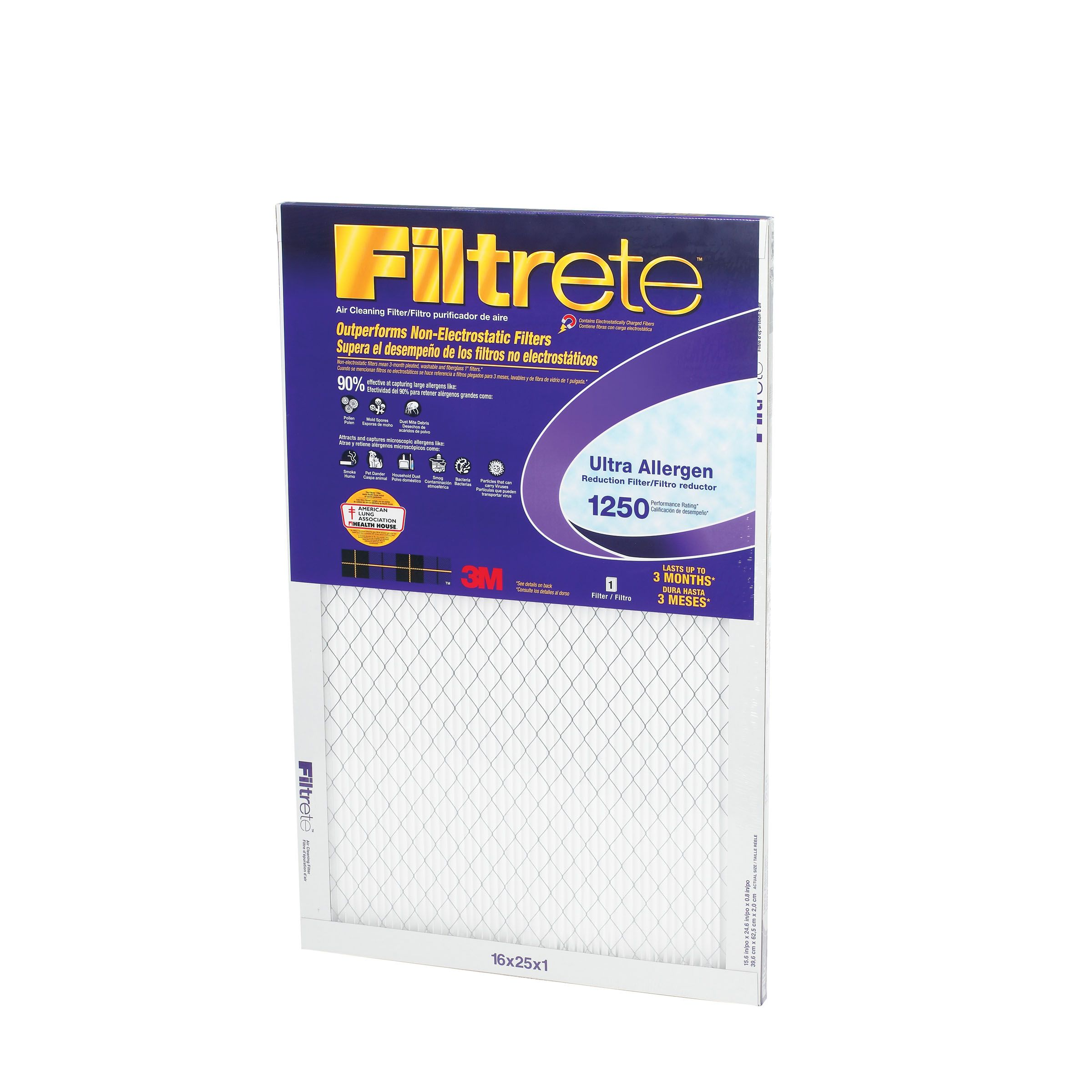 Ultra Allergen Reduction Filter 16 in x 24 in