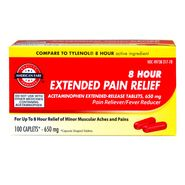 American Fare 8 Hour Extended Pain Relief Caplets 100 Count at Kmart.com