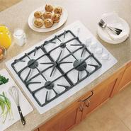 "GE Profile Profile™ Series 30"" Built-In Ceramic-Glass Gas Cooktop at Sears.com"