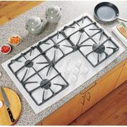 "GE Profile Profile™ Series 36"" Ceramic-Glass Gas Conventional Cooktop at Sears.com"