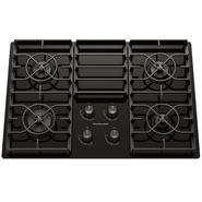 "KitchenAid 30"" Gas Ceramic-glass Conventional Cooktop w/ 4 Sealed Burners at Sears.com"